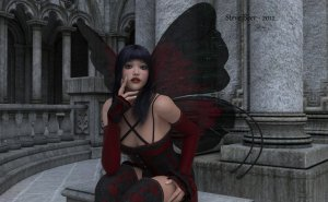 goth-pixie