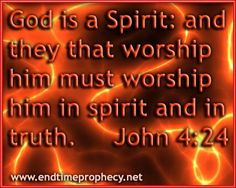 god-is-a-spirit