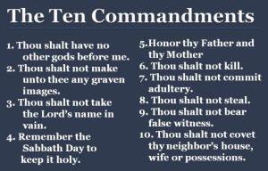 Ten-commandments